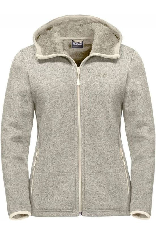 Jack Wolfskin Fleece Lakeland light grey