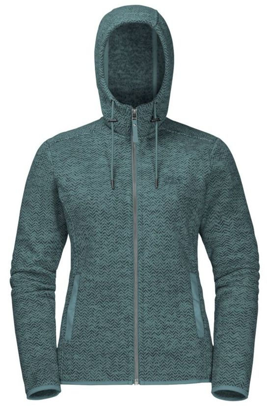 Jack Wolfskin Fleece Patan Hooded mid green