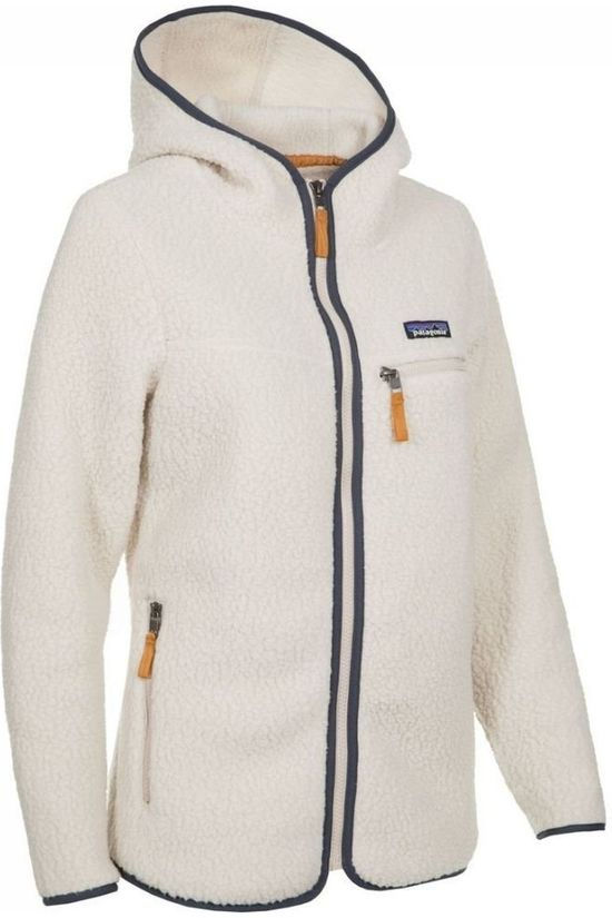 Patagonia Fleece Retro Pile Hoody off white