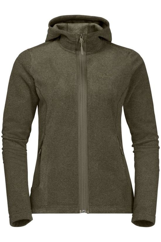 Jack Wolfskin Polaire Skywind Hooded Taupe