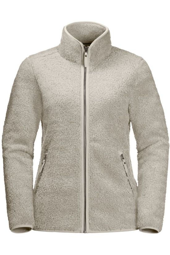Jack Wolfskin Fleece High Cloud Ecru