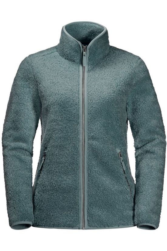 Jack Wolfskin Fleece High Cloud Middengroen