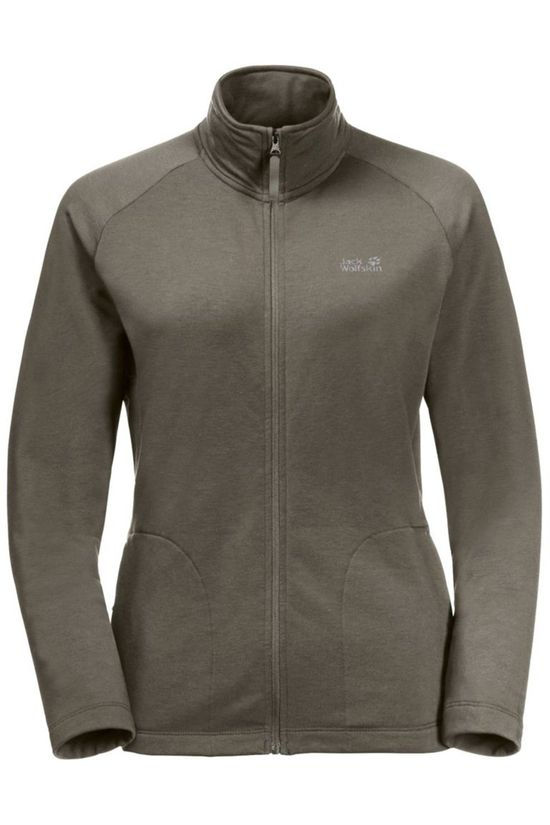 Jack Wolfskin Fleece JWP Pack And Go! Taupe
