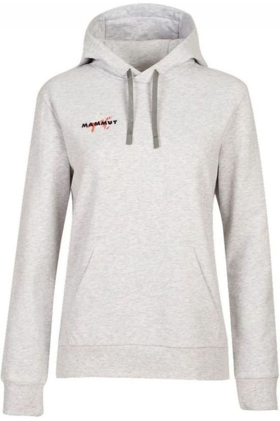 Mammut Pullover Logo Ml Hoody Light Grey Marle