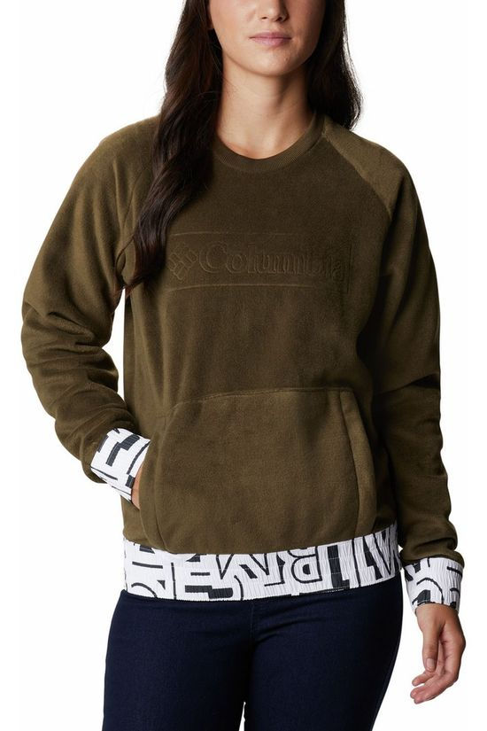 Columbia Pullover Exploration Fleece Crew mid khaki