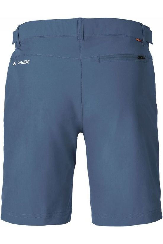 Vaude Short Farley Stretch Middenblauw