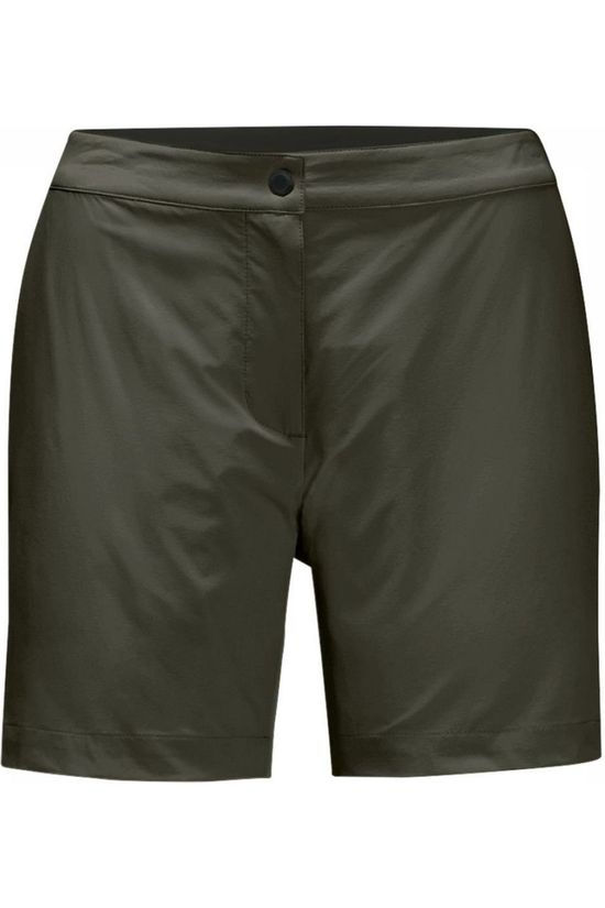 Jack Wolfskin Shorts JWP Pack And Go! dark green