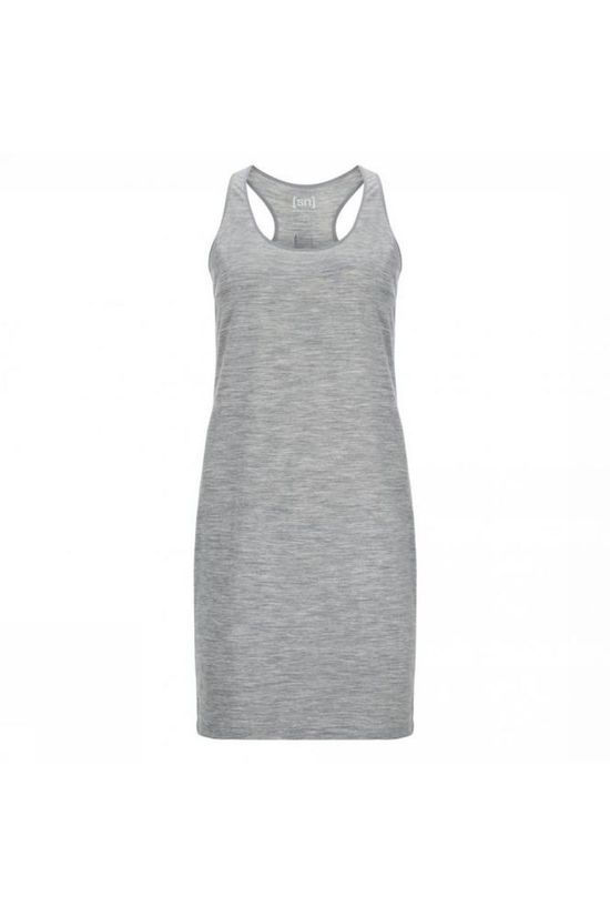 Supernatural Dress Essential Racer mid grey