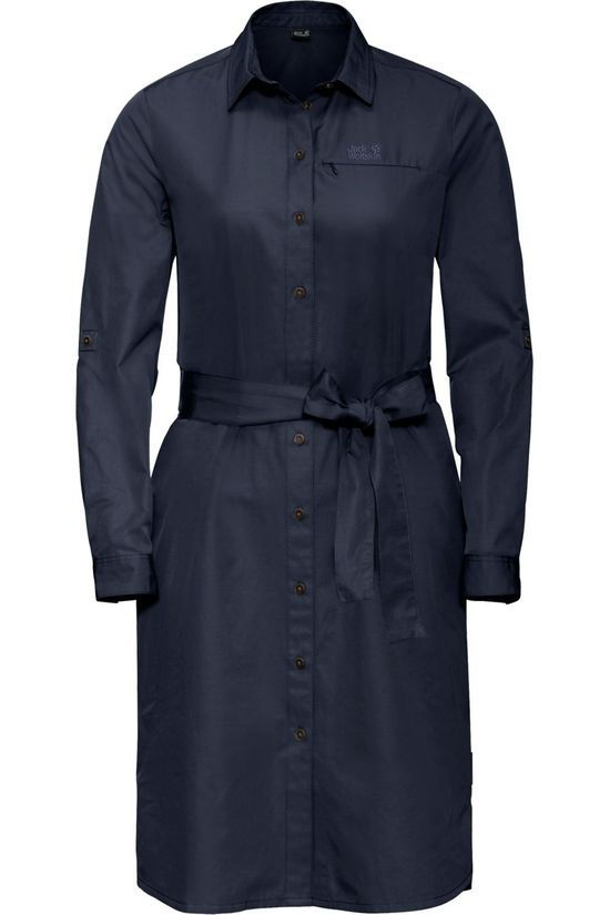 Jack Wolfskin Dress Lakeside dark blue