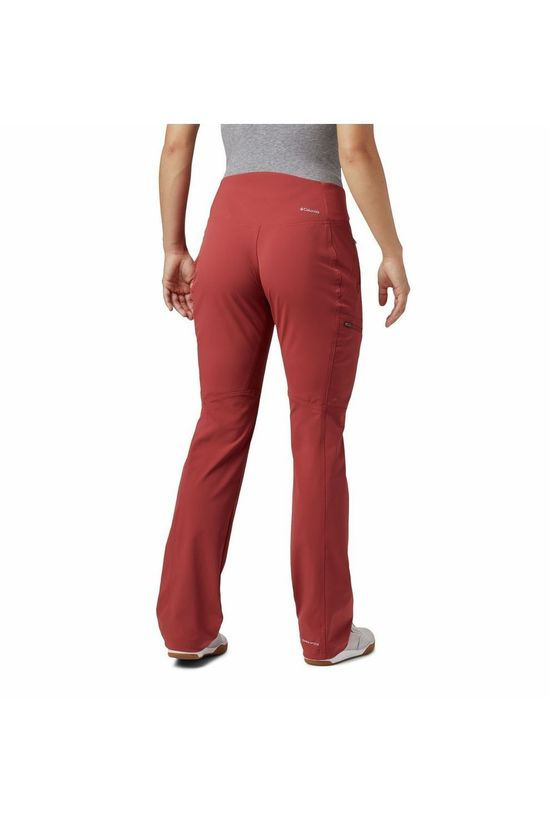 Columbia Trousers Back Up Passo Alto Straight Leg Regular dark red