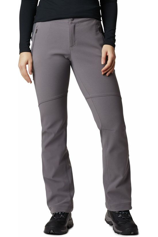Columbia Trousers Back Up Dark Grey Marle