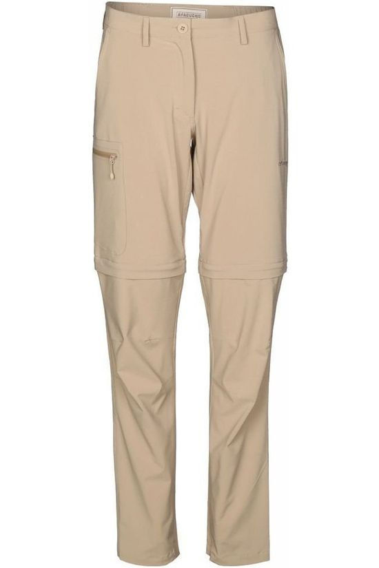 Ayacucho Trousers Equator II Zip Off Stretch Am Sand Brown