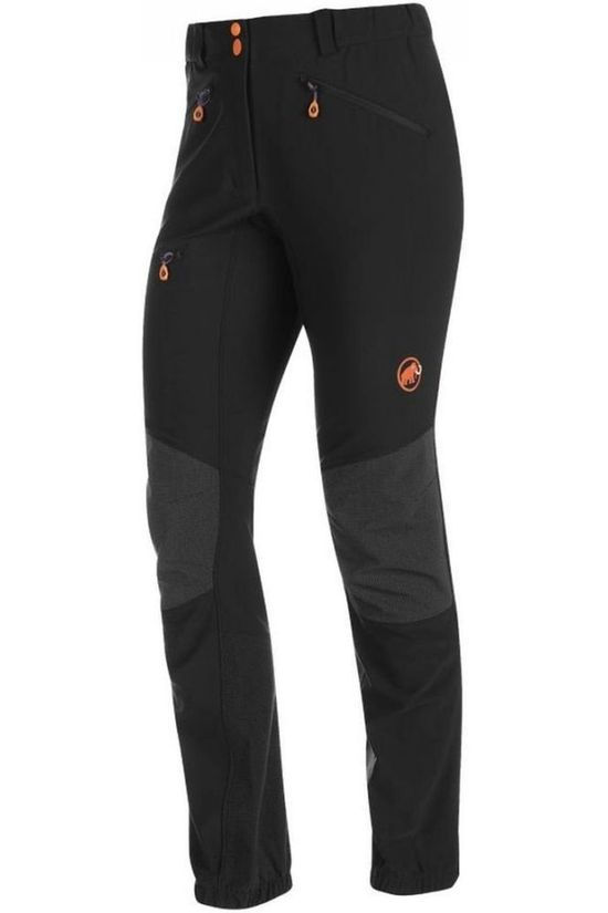 Mammut Pantalon Eisfeld Advanced SO Regular Noir/Gris Foncé