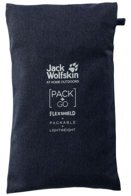 Jack Wolfskin Broek JWP Pack And Go! Winter Pants W Donkerblauw