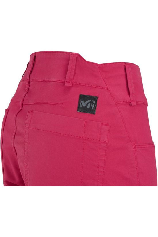 Millet Pantalon Red Wall Stretch Rouge