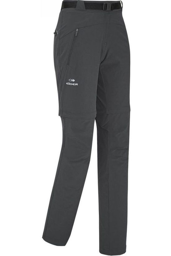 Eider Trousers Flex Zip-Off black