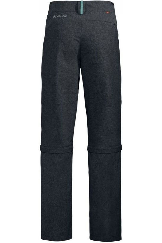 Vaude Trousers Skomer Capri Zo II Regular dark grey