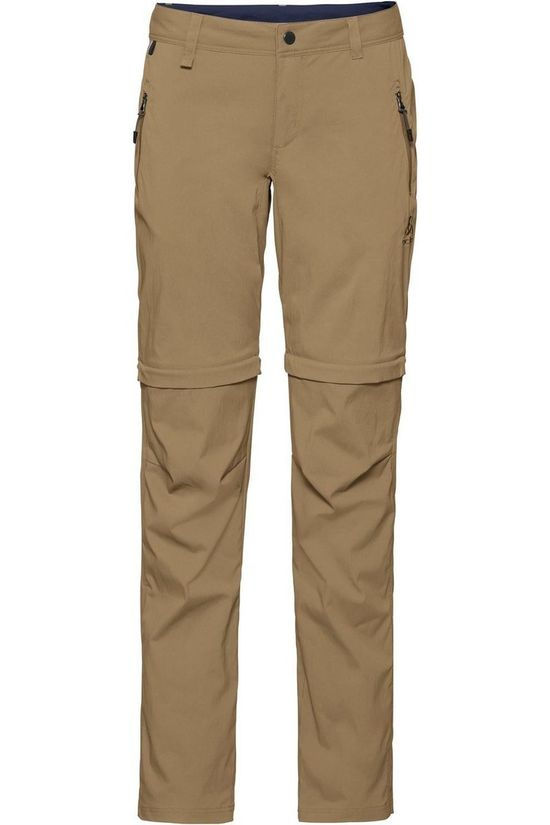 Odlo Pantalon Zip-Off Wedgemount Taupe