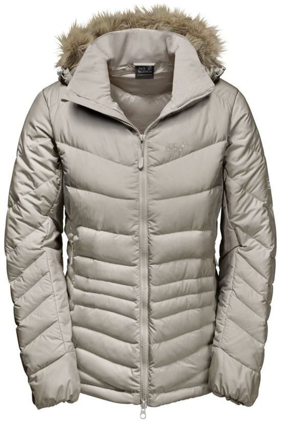 Jack Wolfskin Down Jacket Selenium Bay Ecru/No colour