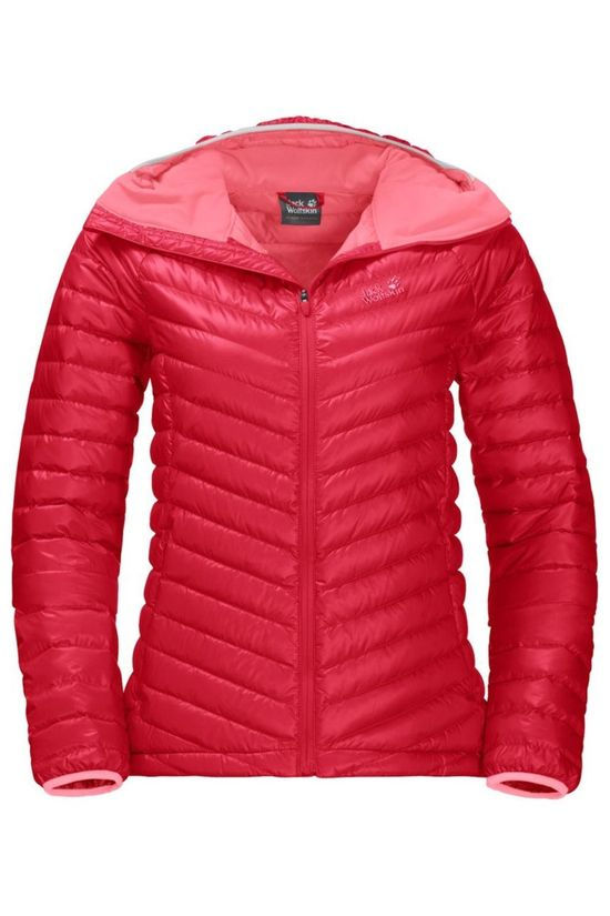 Jack Wolfskin Donsjas Atmosphere Middenrood