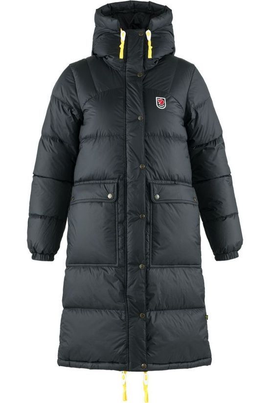 Fjällräven Down Jacket Expedition Long Down Parka black
