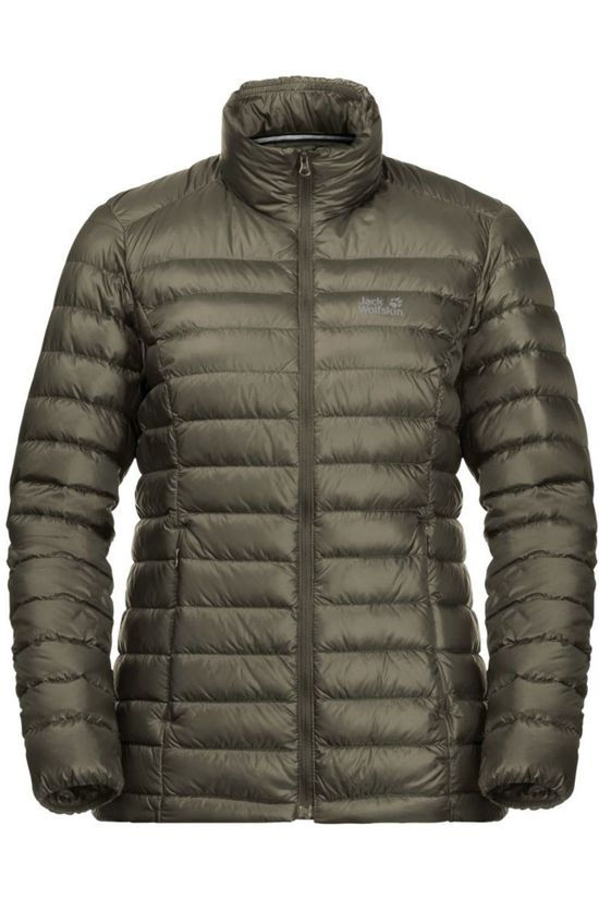 Jack Wolfskin Down JWP Pack And Go! Down Taupe