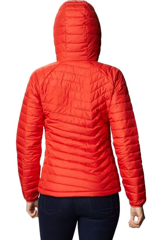 Columbia Coat Powder Lite Hooded orange