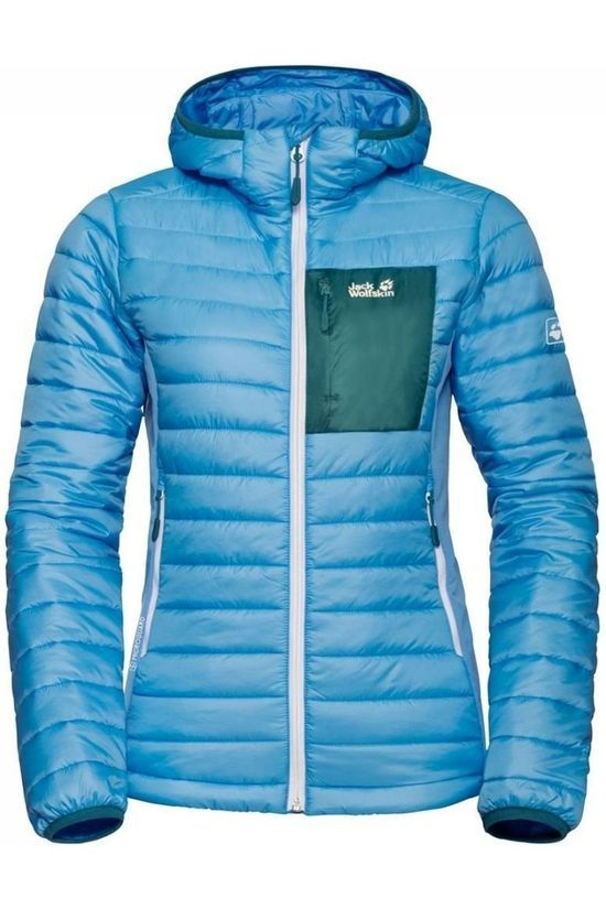Jack Wolfskin Coat Routeburn blue