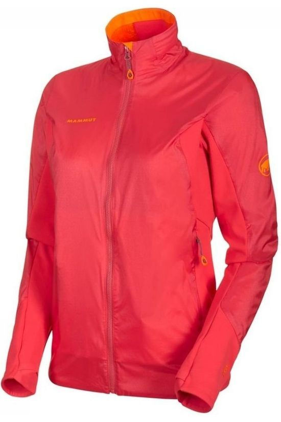 Mammut Manteau Eigerjoch In Hybrid Rose Foncé/Orange