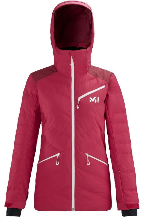 Millet Coat Baqueira red/mid red