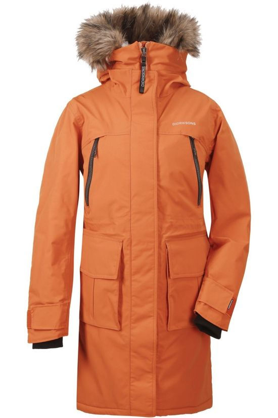Didriksons 1913 Manteau Leona Orange