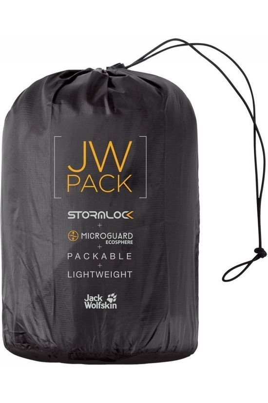 Jack Wolfskin Bodywarmer JWP Pack And Go! Noir