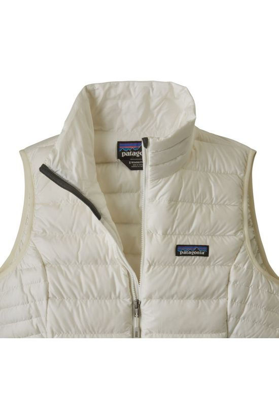 Patagonia Bodywarmer Down Sweater off white