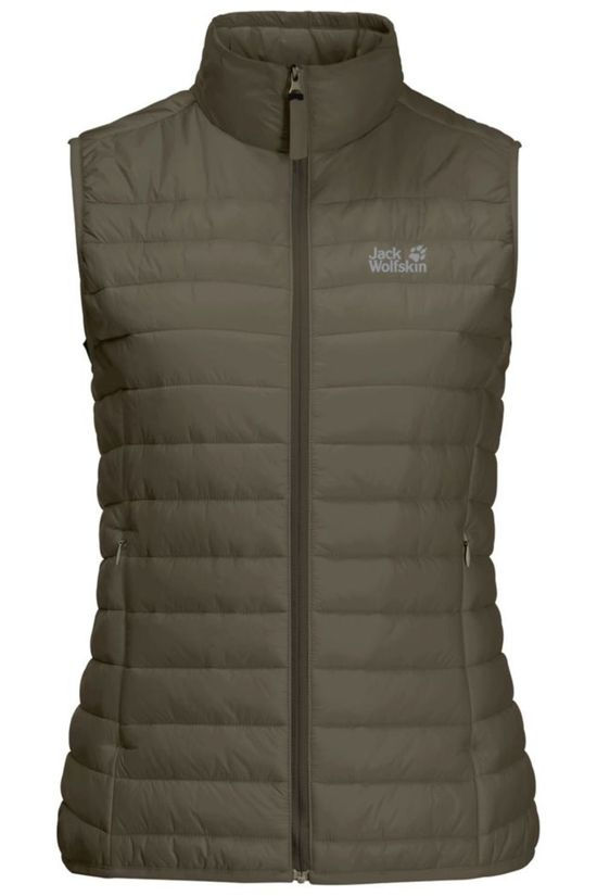 Jack Wolfskin Bodywarmer JWP Pack And Go! Taupe