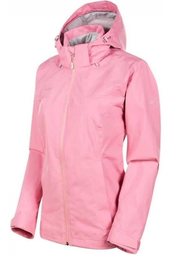 Mammut Coat Ayako Tour HS Hooded light pink/light grey