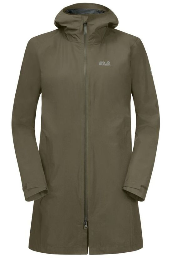 Jack Wolfskin Jas JWP Pack And Go! Eco Taupe