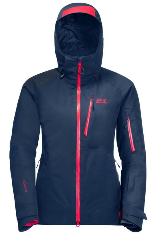 Jack Wolfskin Coat Snow Summit dark blue