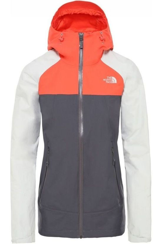 The North Face Coat Stratos mid grey/white