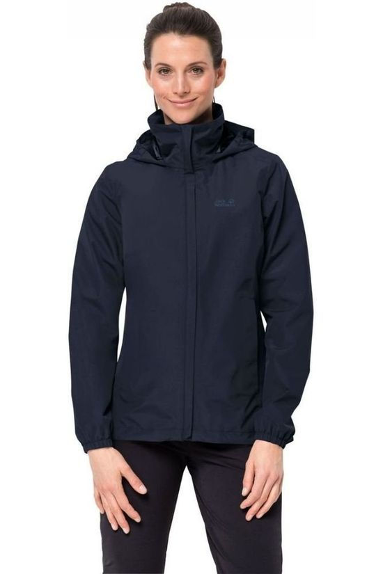 Jack Wolfskin Coat Stormy Point Marine