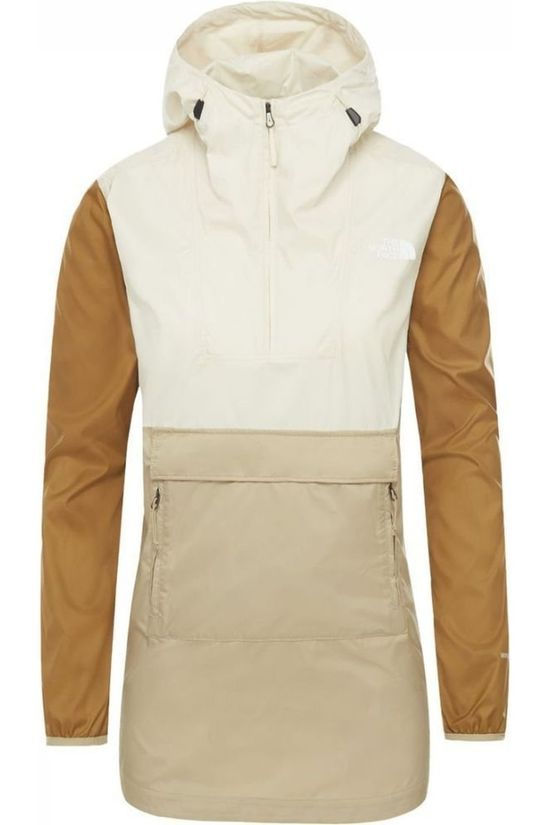 The North Face Coat Fanorak 2.0 Off White/Sand Brown