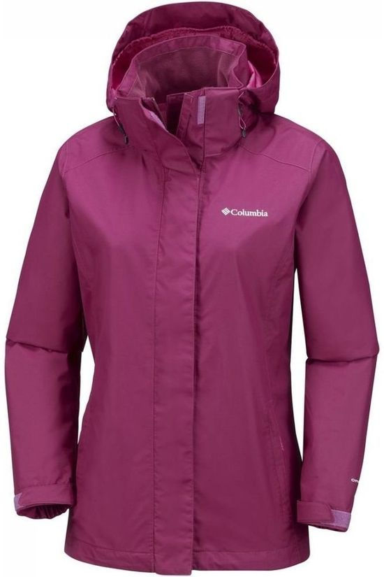 Columbia Regenjas Timothy Lake Bordeaux / Kastanjebruin