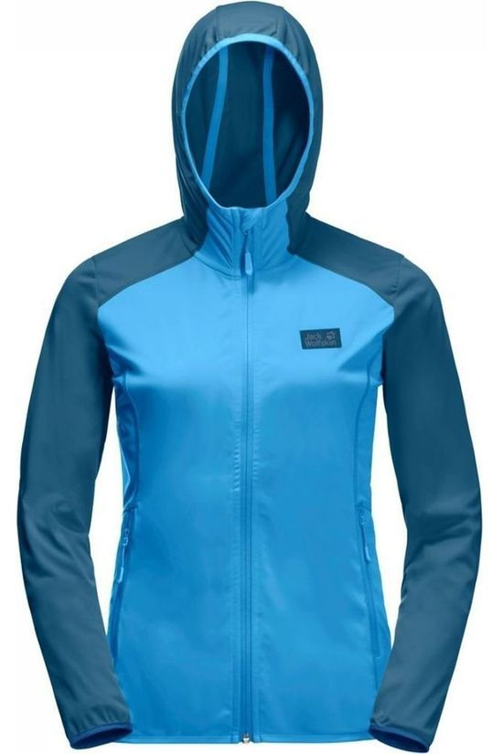 Jack Wolfskin Waterproof Hydro Hooded Light light blue/mid blue
