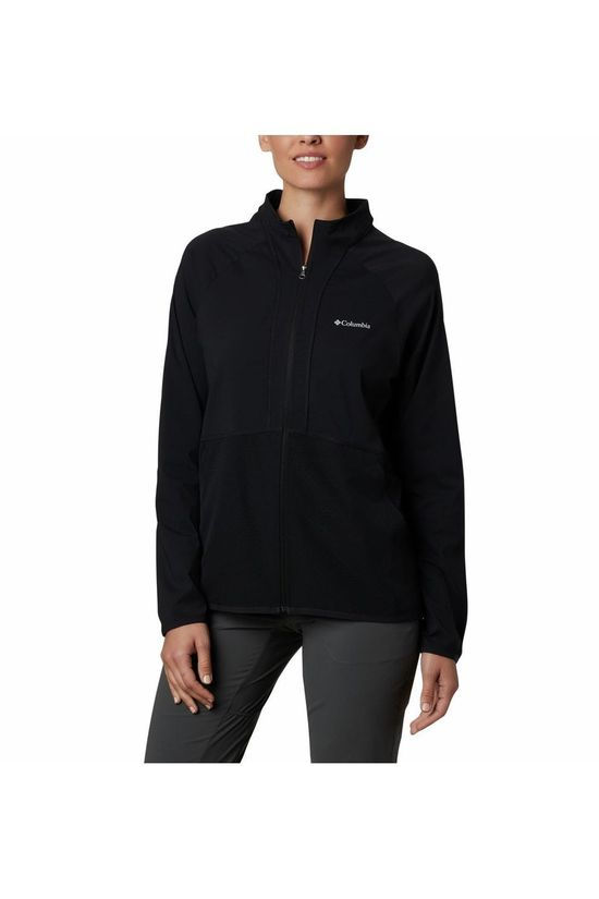 Columbia Waterproof Jacket Bryce Peak Perforated black