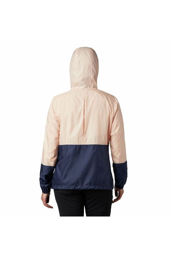 Columbia Windstopper Flash Forward Rose Clair/Bleu Foncé