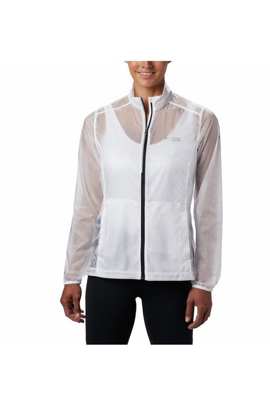 Columbia Windstopper Fkt Windbreaker white