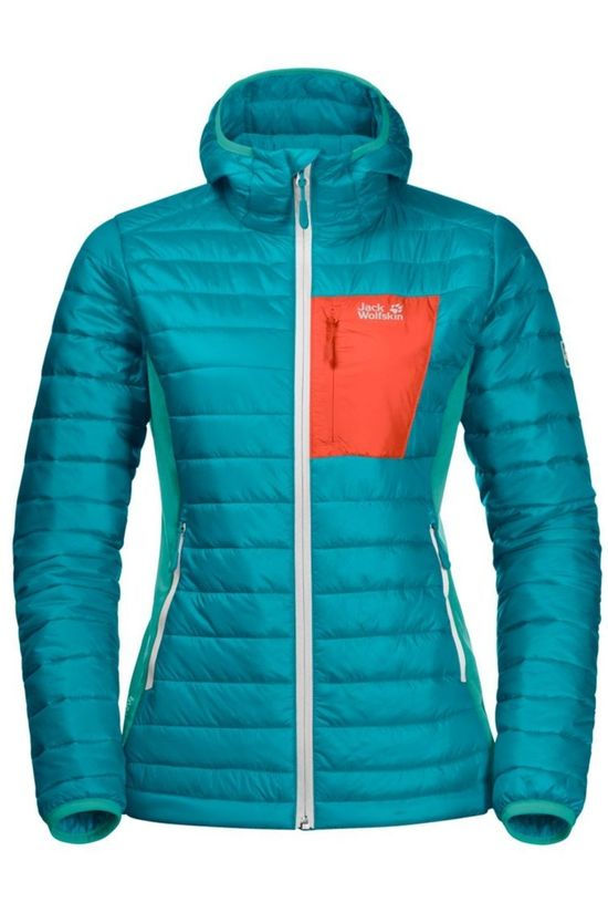 Jack Wolfskin Windstopper Routeburn Turquoise/Orange