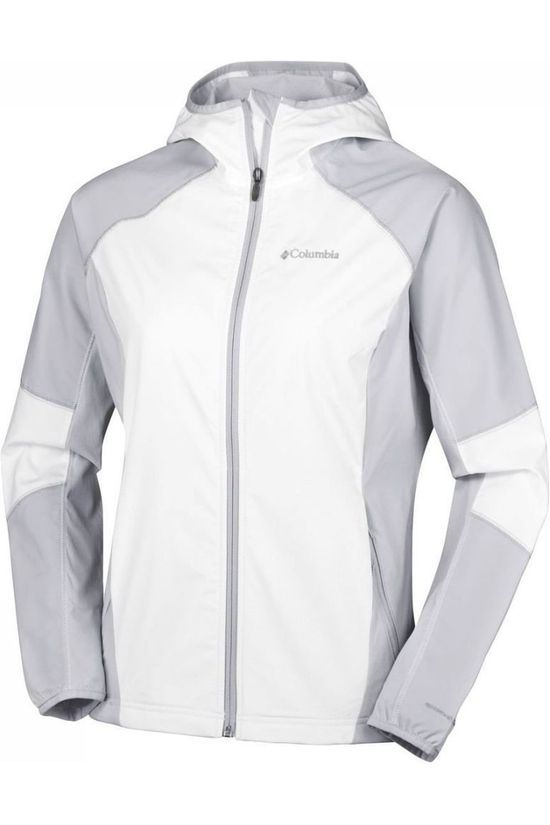 Columbia Softshell Sweet AS Wit/Lichtgrijs