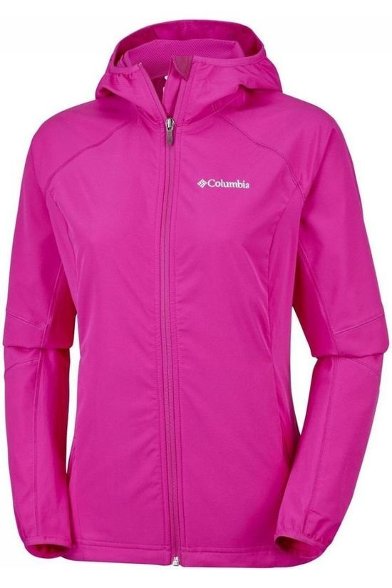 Columbia Sweet As Softshell Women Fuchsia