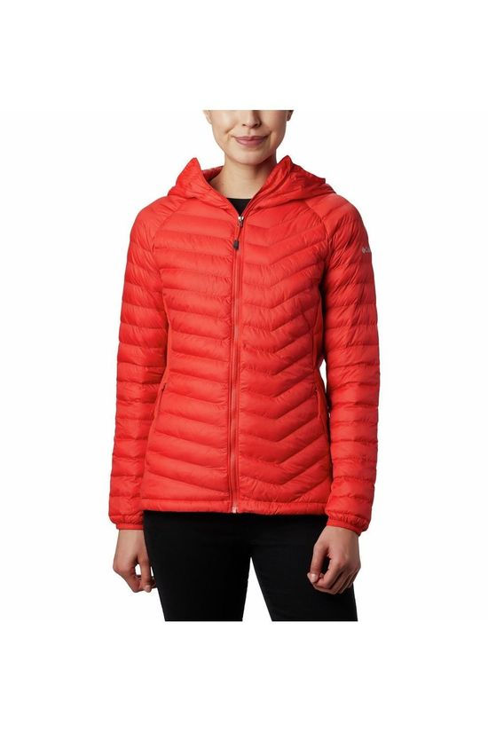 Columbia Softshell Powder Lite Hybrid Hooded Orange/Pas de couleur