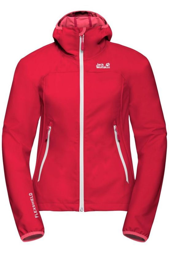 Jack Wolfskin Softshell Eagle Peak red